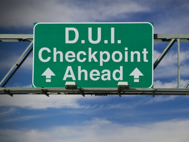 Are DUI Checkpoints Constitutional?